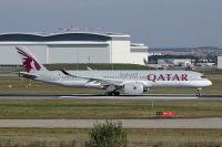Photo: Qatar Airways, Airbus A350, F-WZFA