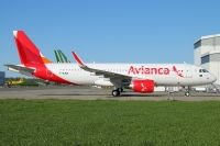 Photo: Avianca, Airbus A320, F-WJKN