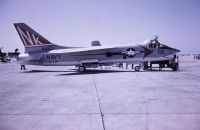 Photo: United States Navy, Vought F-8 Crusader, 144459