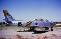 Photo: United States Air Force, North American F-86 Sabre, 49-1272