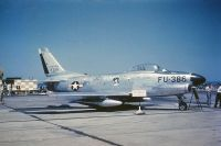 Photo: United States Air Force, North American F-86 Sabre, 18386