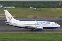 Photo: Orenair, Boeing 737-500, VP-BEW