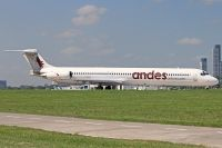 Photo: Andes, McDonnell Douglas MD-80, LV-CCJ