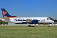 Photo: SOL, Saab SF340, LV-BEW