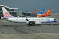 Photo: China Airlines, Boeing 737-800, B-18652