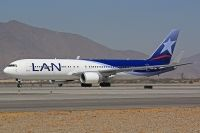 Photo: LAN Airlines, Boeing 767-300, CC-CWY