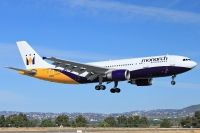 Photo: Monarch Airlines, Airbus A300, G-MONR