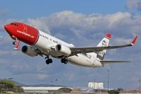 Photo: Norwegian, Boeing 737-800, LN-NOF