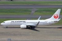 Photo: JAL Express - JEX, Boeing 737-800, JA348J