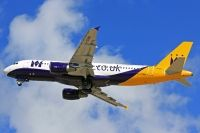 Photo: Monarch Airlines, Airbus A320, G-OZBW