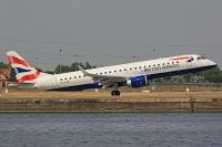 Photo: British Airways, Embraer EMB-190, G-LCYR