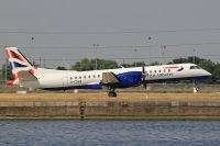 Photo: British Airways, Saab 2000, G-CDEB