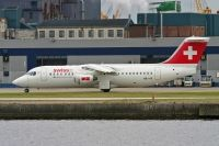 Photo: Swiss, British Aerospace RJ-100, HB-IYR