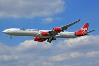 Photo: Virgin Atlantic Airways, Airbus A340-600, G-VBLU
