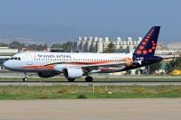 Photo: Brussels Airlines, Airbus A320, OO-SNC