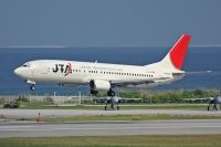 Photo: Japan TransOcean Air - JTA, Boeing 737-400, JA8525