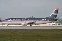 Photo: US Airways, Boeing 737-400, N419US