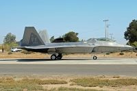 Photo: United States Air Force, Lockheed F-22A Raptor, 08-166