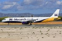 Photo: Monarch Airlines, Airbus A321, G-OZBH