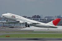 Photo: Japan Airlines - JAL, Boeing 747-400, JA8908