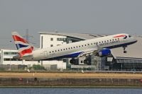 Photo: British Airways, Embraer EMB-190, G-LCYK