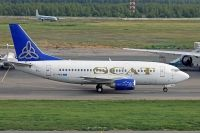 Photo: SCAT, Boeing 737-500, LY-AWD