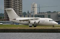 Photo: Transwede Airways, British Aerospace BAe 146-100, SE-DJX