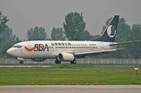 Photo: Shandong Airlines, Boeing 737-300, B-2877