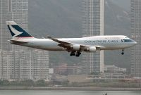 Photo: Cathay Pacific Cargo, Boeing 747-400, B-HKX