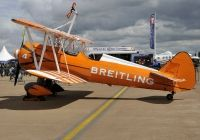 Photo: Breitling wingwalkers, Stearman N2S-3, SE-BOG