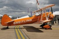 Photo: Breitling wingwalkers, Stearman N2S-3, N707TU