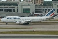Photo: Air France, Boeing 747-400, f-gita