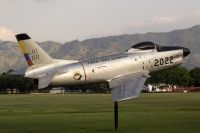 Photo: Fuerza Aerea Colombiana- FAC, North American F-86 Sabre, FAC2022