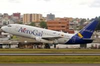 Photo: AeroGal, Boeing 737-200, HC-CFO