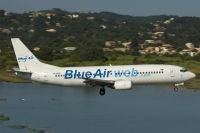Photo: Blue Air, Boeing 737-400, YR-BAD
