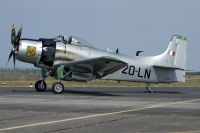 Photo: France - Air Force, Douglas A-1 Skyraider, F-AZHK