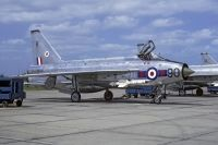 Photo: Royal Air Force, English Electric Lightning