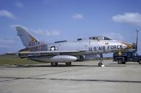 Photo: United States Air Force, North American F-100 Super Sabre, 56-3239