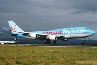 Photo: Corsair, Boeing 747-400, F-HOVD