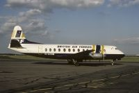 Photo: British Air Ferries - BAF, Vickers Viscount 800, G-AOHM