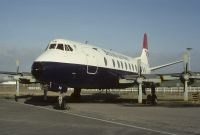Photo: British Airways, Vickers Viscount 800, G-AOHM