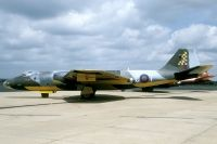Photo: Private, English Electric Canberra, G-BURM