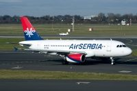 Photo: Air Serbia, Airbus A319, A6-SAA
