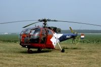 Photo: Royal Netherlands Air Force, Aerospatiale Alouette III, A-350