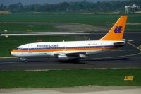 Photo: Hapag-Lloyd, Boeing 737-200, D-AHLD