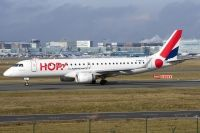 Photo: Hop, Embraer EMB-190, F-HBLA
