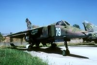 Photo: Bulgarian Air Force, MiG MiG-23, 79
