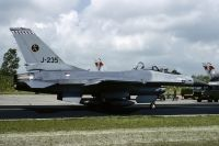 Photo: Royal Netherlands Air Force, General Dynamics F-16, J-235