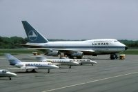 Photo: Luxair, Boeing 747SP, LX-LGX