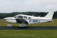Photo: Private, Piper PA-28 Warrior, G-BGPJ